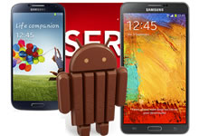 SFR: Android 4.4 KitKat Note 3
