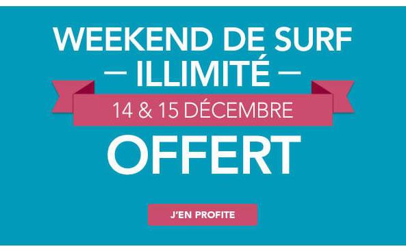 Bouygues Telecom week-end surf illimité