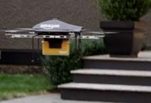 Drone Amazon Prime Air livraison de colis