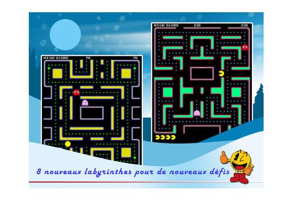 Jeu Pac Man pour iPhone et iPad