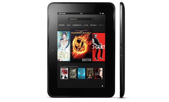 Baisse des prix sur la Kindle Fire HD ancienne génération