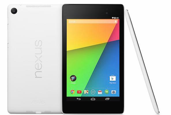Nexus 7 en blanc