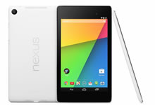 Google Nexus 7 en version blanc