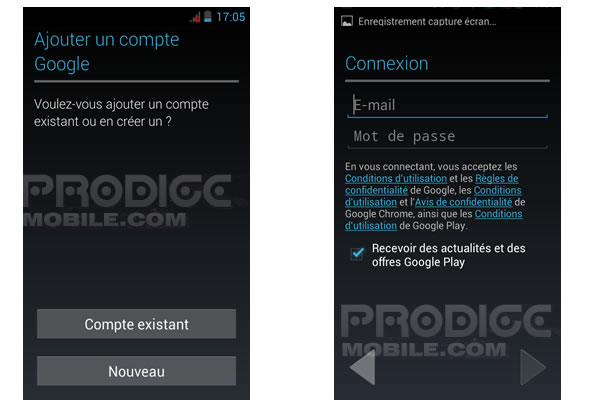 Ajouter compte Gmail à son smartphone Android