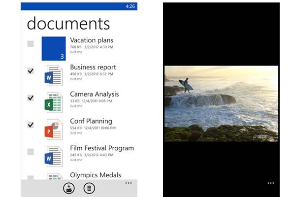 Plus d'espace de stockage pour les utilisateurs de Windows Phone
