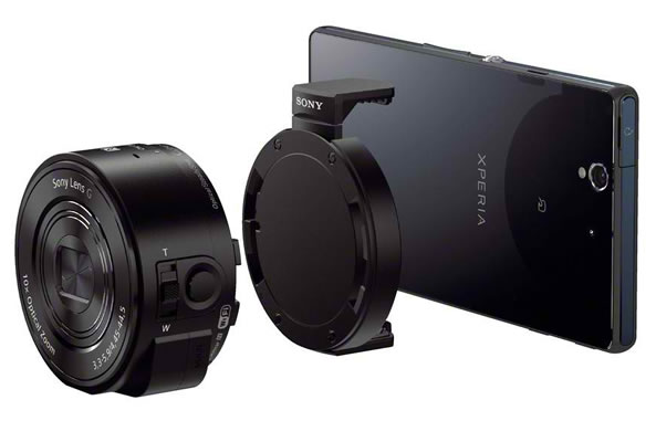 Objectif photo Sony QX10