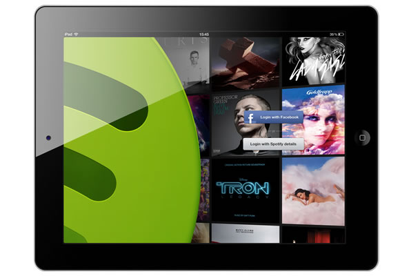 Spotify pour smartphone et tablette