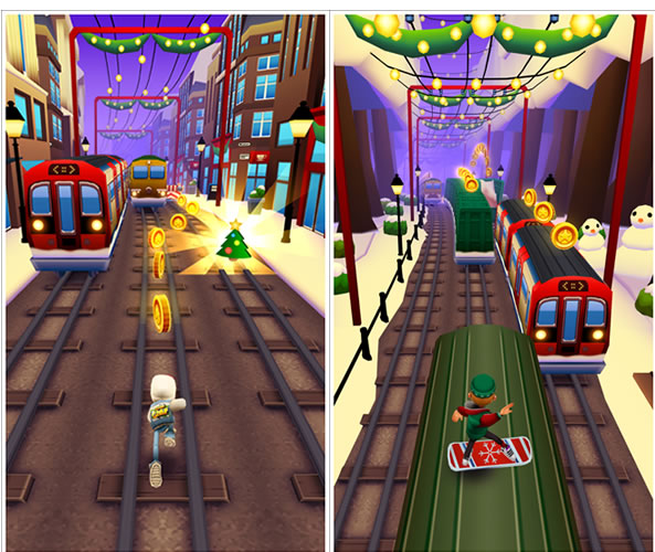 Subway Surfers pour smartphones Windows