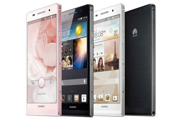 Téléphone portable Huawei Ascend P6