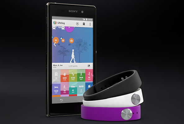 LifeLog application dédiée au Sony SmartBand