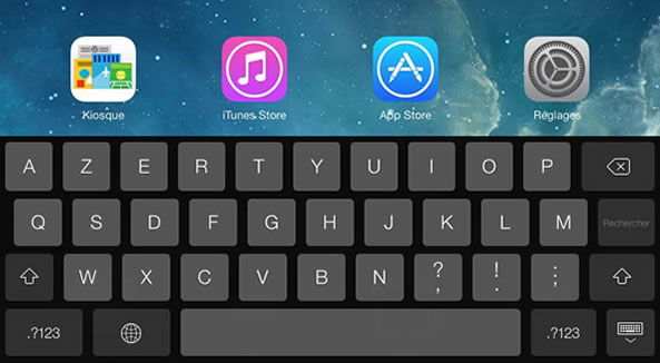 Astuces ponctuation - Clavier iPhone
