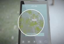 Un écran antibactérien pour les smartphones