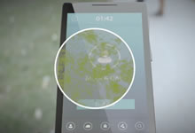 Ecran antibactérien pour smartphones