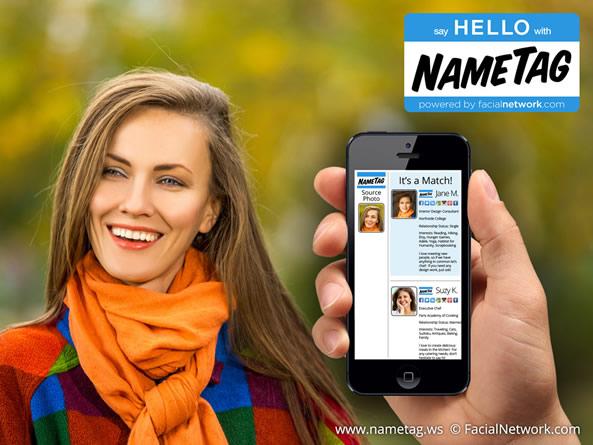 NameTag, application pour connaître l'identité d'inconnus