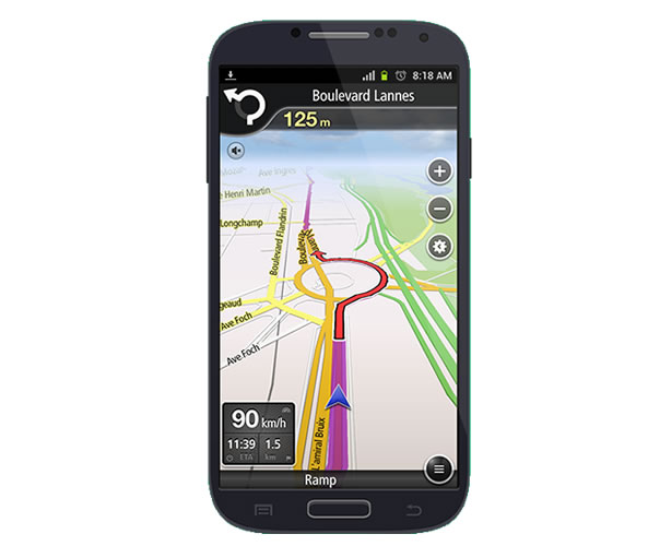 navfree application gps gratuite pour smartphone android