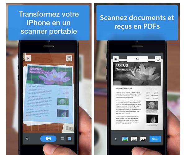 Scanner Pro pour iPhone et iPad