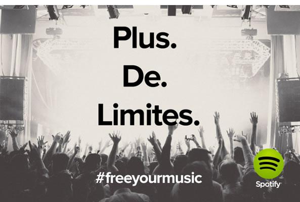 Spotify écoute musique en illimité et gratuite