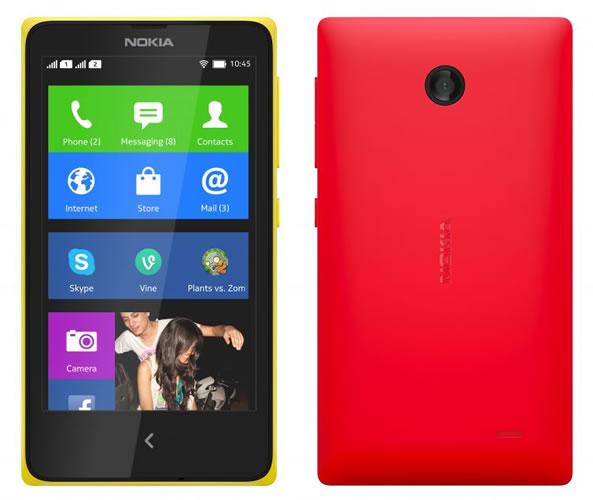 Nokia X sous Android