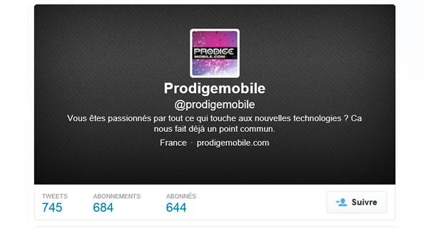 Twitter Prodigemobile