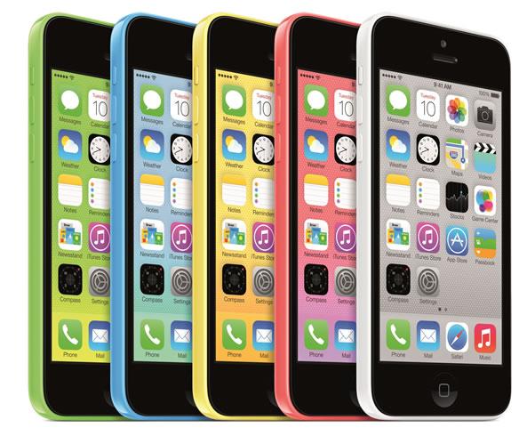iPhone 5C avec 8 Go d'espace de stockage