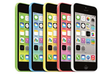 Apple lance l'iPhone 5C 8 Go