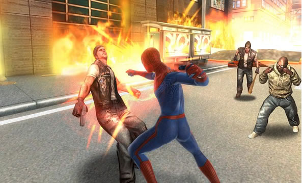The Amazing Spider-Man jeu pour terminaux Android