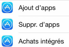 Bloquer l'ajout d'applications sur un iPhone