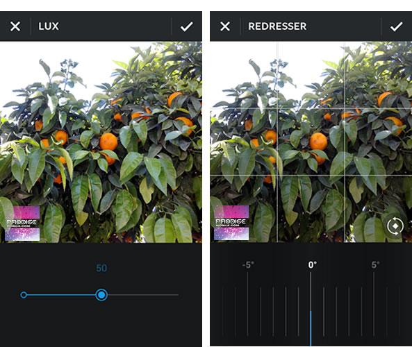 Instagram: Nouveaux outils édition photo