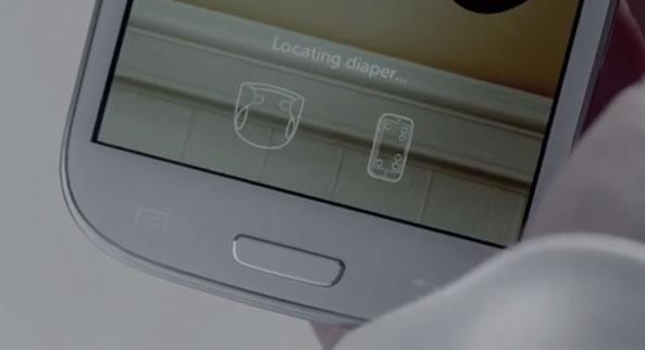 Couche reliée en bluetooth à votre smartphone