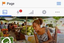 Gestionnaire des Pages Facebook s'offre un nouveau design