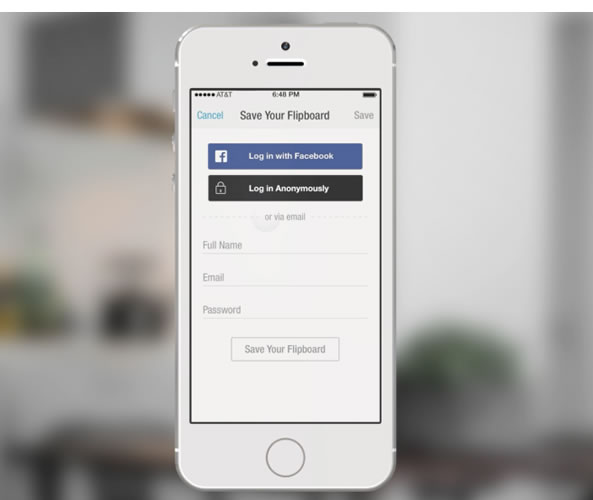 Facebook Social Login pour mobile