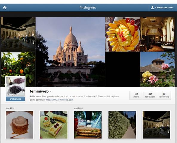 Flux RSS pour Instagram