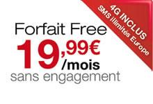 Les SMS émis depuis l'Europe et les DOM sont désormais gratuits chez Free