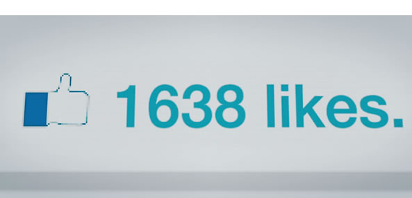 Likes sur Facebook