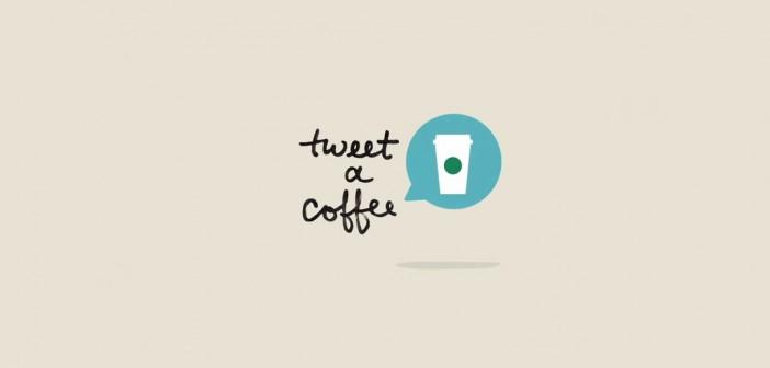 Un café Starbucks offert en échange d'un tweet