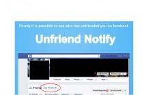 Unfriend notify vous informe dès qu'un ami arrête de vous suivre sur Facebook