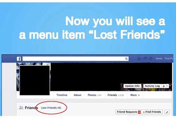 Unfriend Notify pour être alerté dès qu'un ami se désabonne de votre page Facebook