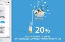 Infographie: Les chiffres clés du SMS marketing en France