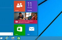 Le retour du bouton démarrer dans Windows 9