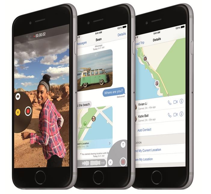 Mise à jour iOS 8