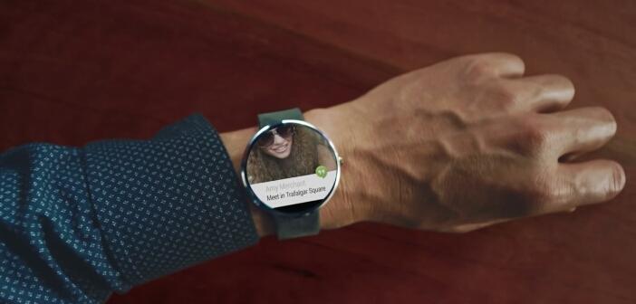 Motorola Moto 360 montre connectée