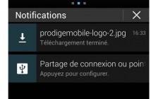 Comment utiliser le volet de notification des smartphones Android