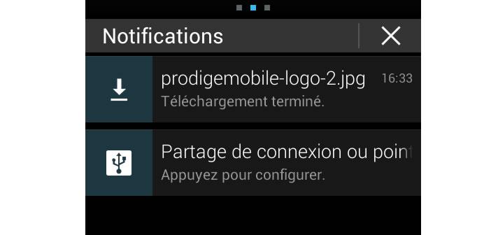 Astuces pour utiliser le volet de notification
