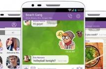 Viber propose les appels vidéos