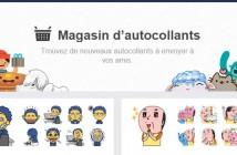 Facebook intègre désormais les autocollants à son réseau social