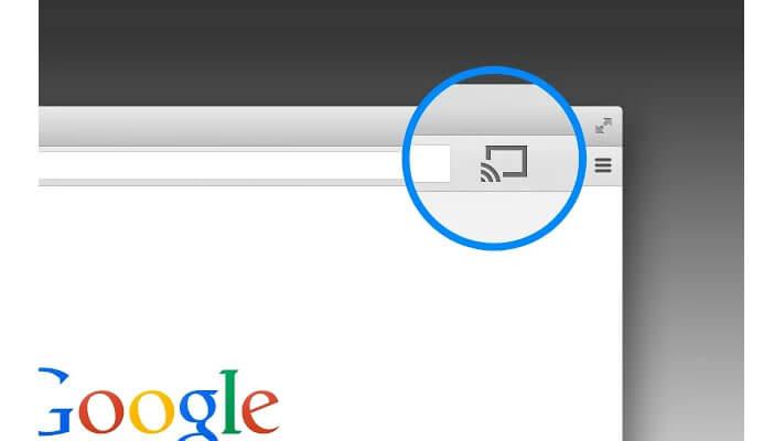 Google Cast pour la navigateur Google Chrome