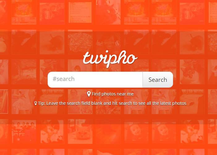 TwiPho est un moteur de recherche de photos
