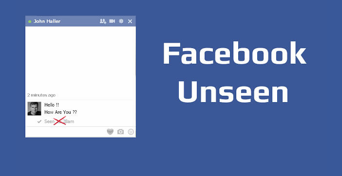 Bloquer les notifications de lecture sur Facebook
