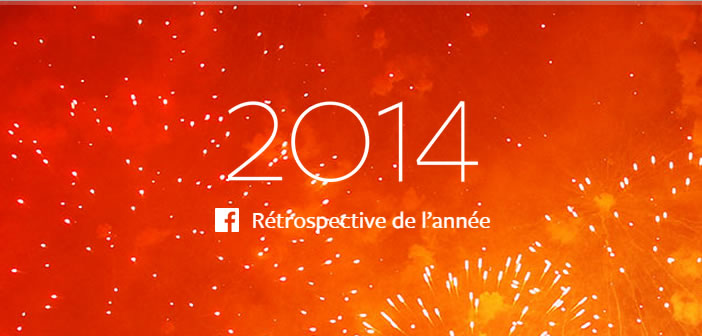 Facebook - Rétrospective 2014