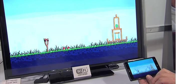 Afficher écran smartphone sur sa TV